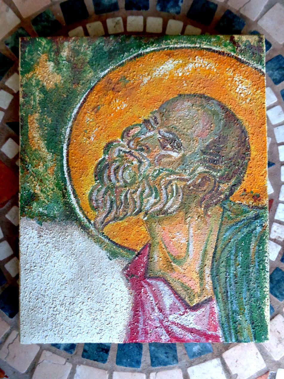 Freske-Detail