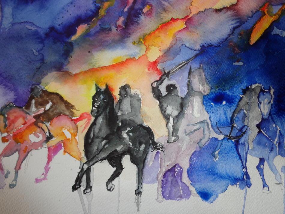 vier Reiter der Apokalypse