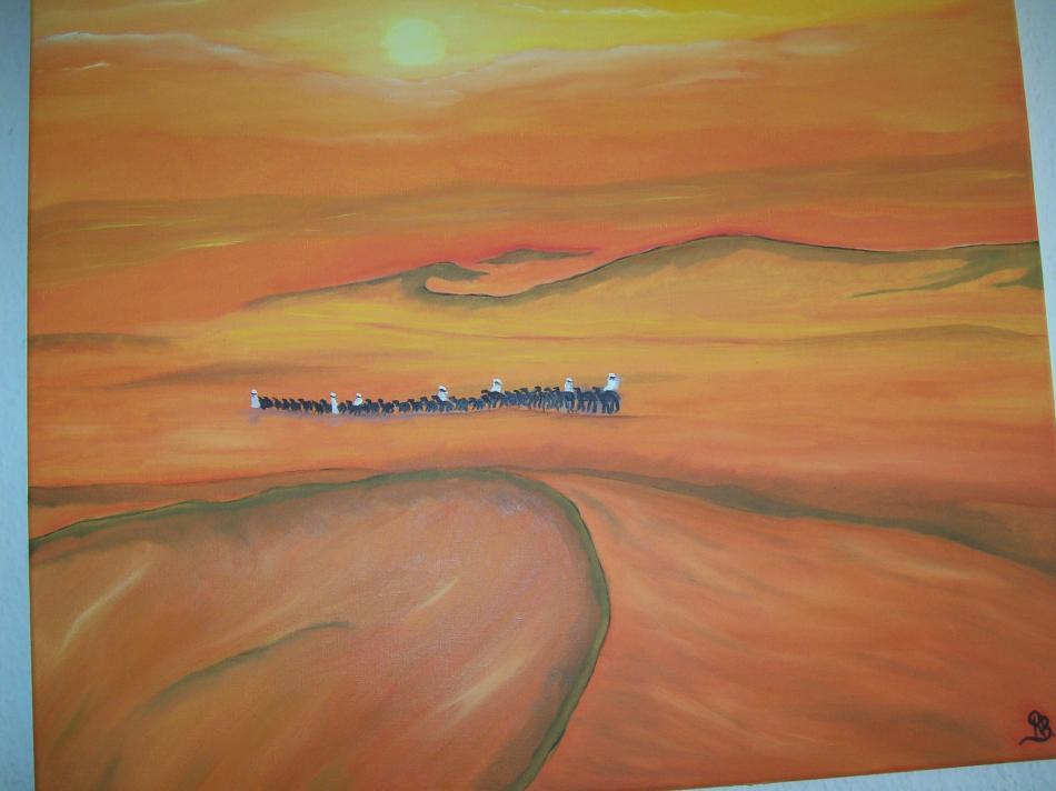 Wüste   60x50