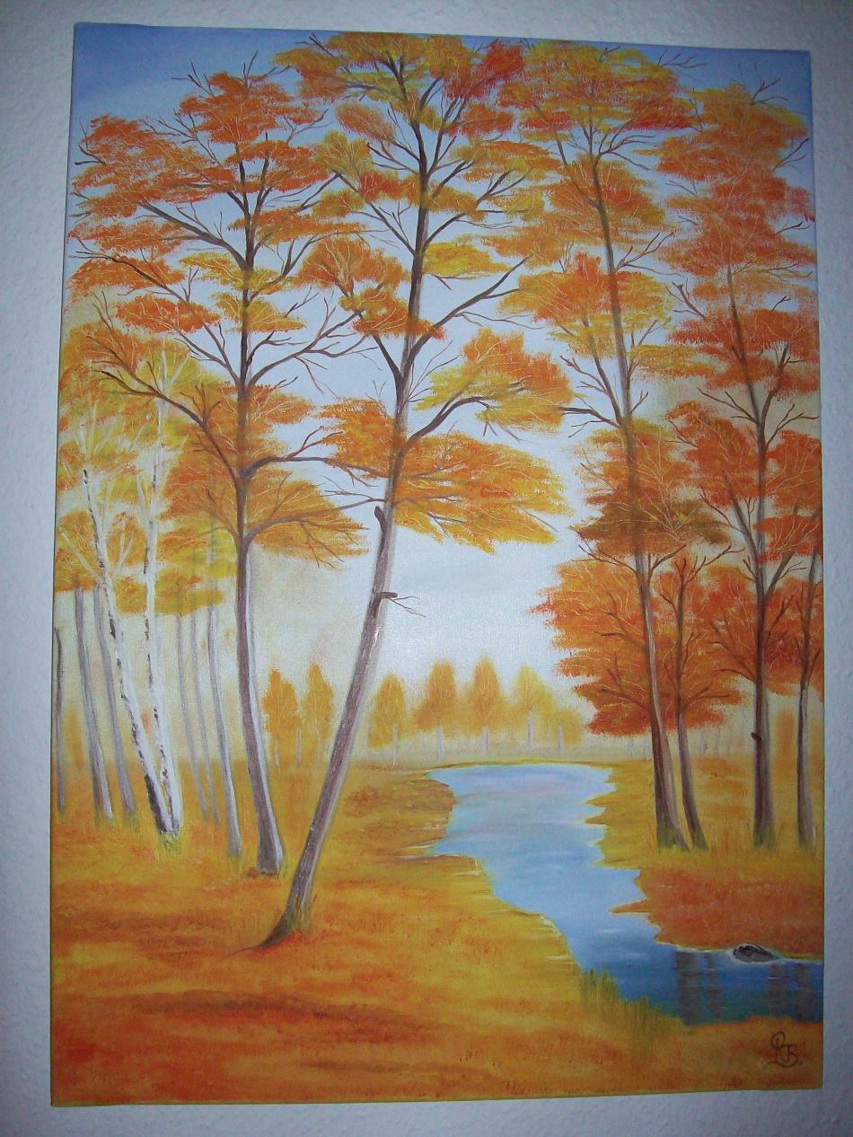Herbstlandschaft  50x70