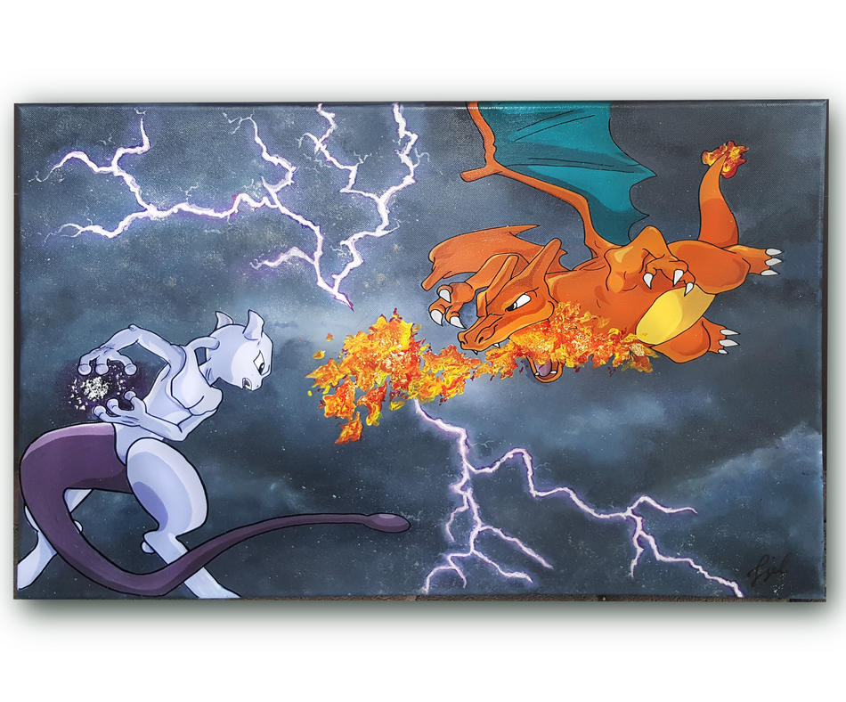 Mewtwo vs. Glurak