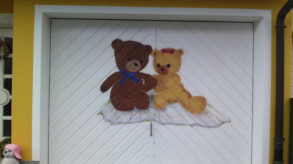 Garagentor Bären