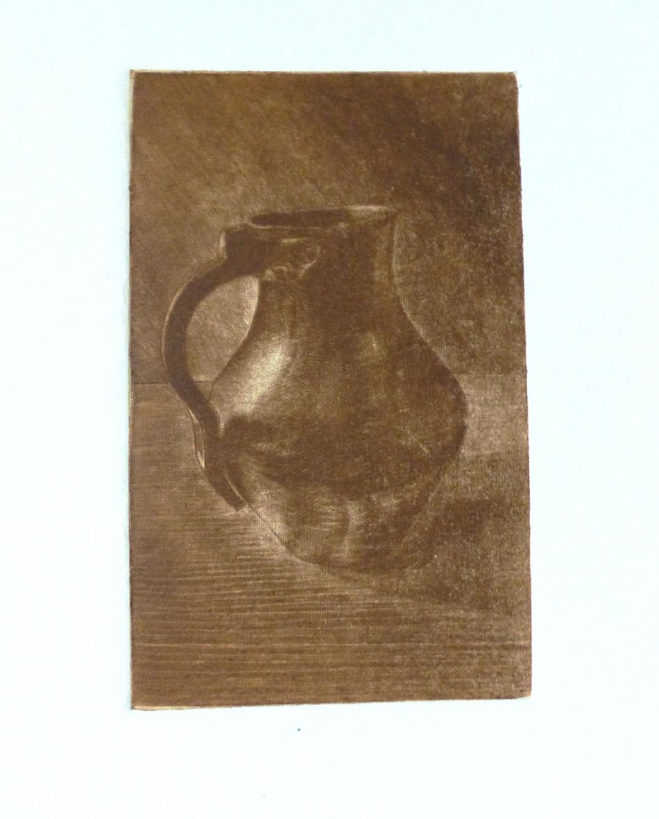 Alter Kupferkrug