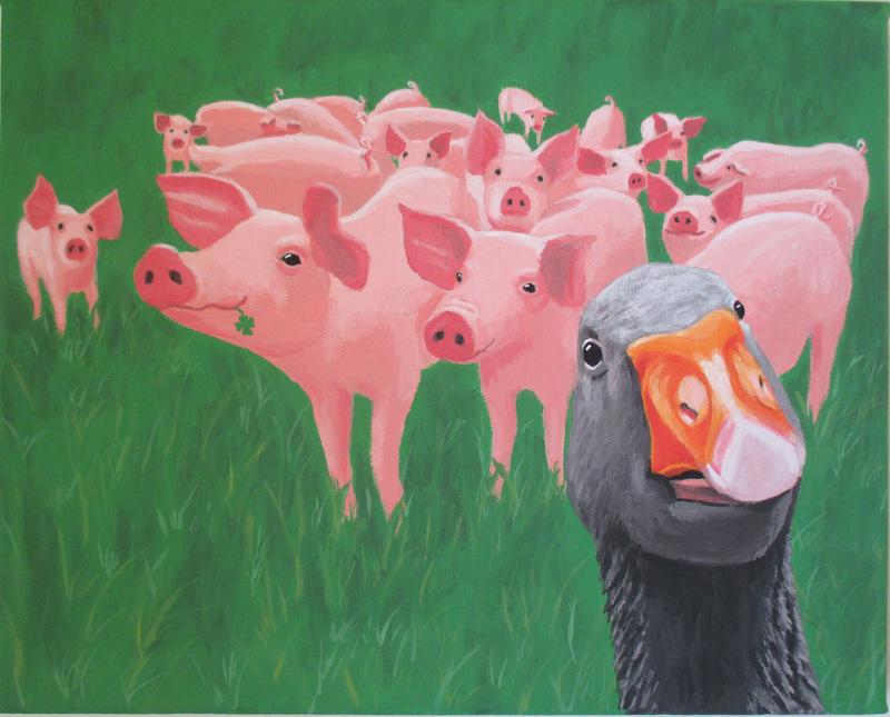 Gans viel Schwein;)