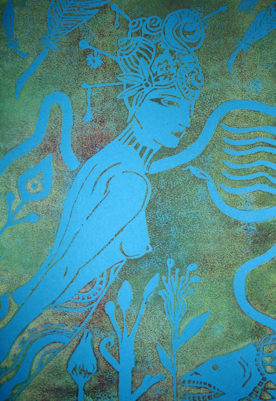 Indonesian goddess