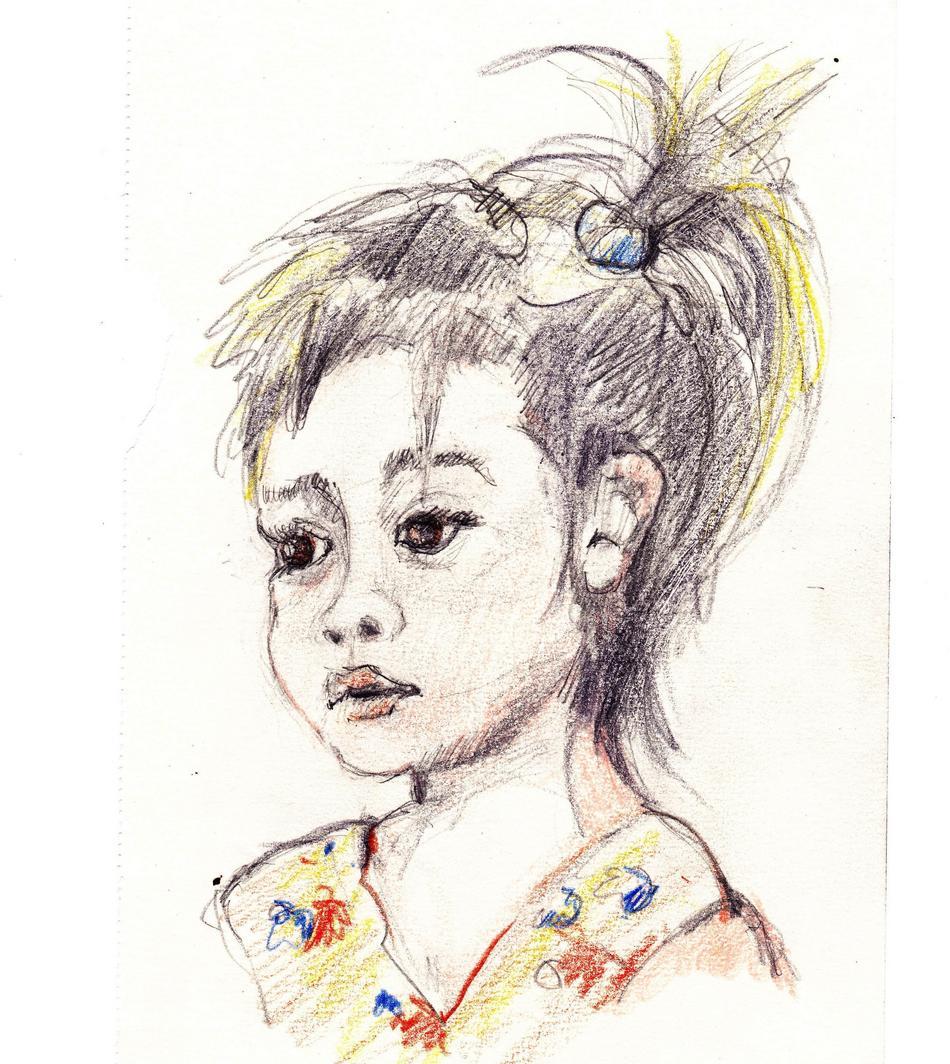 portraitskizze