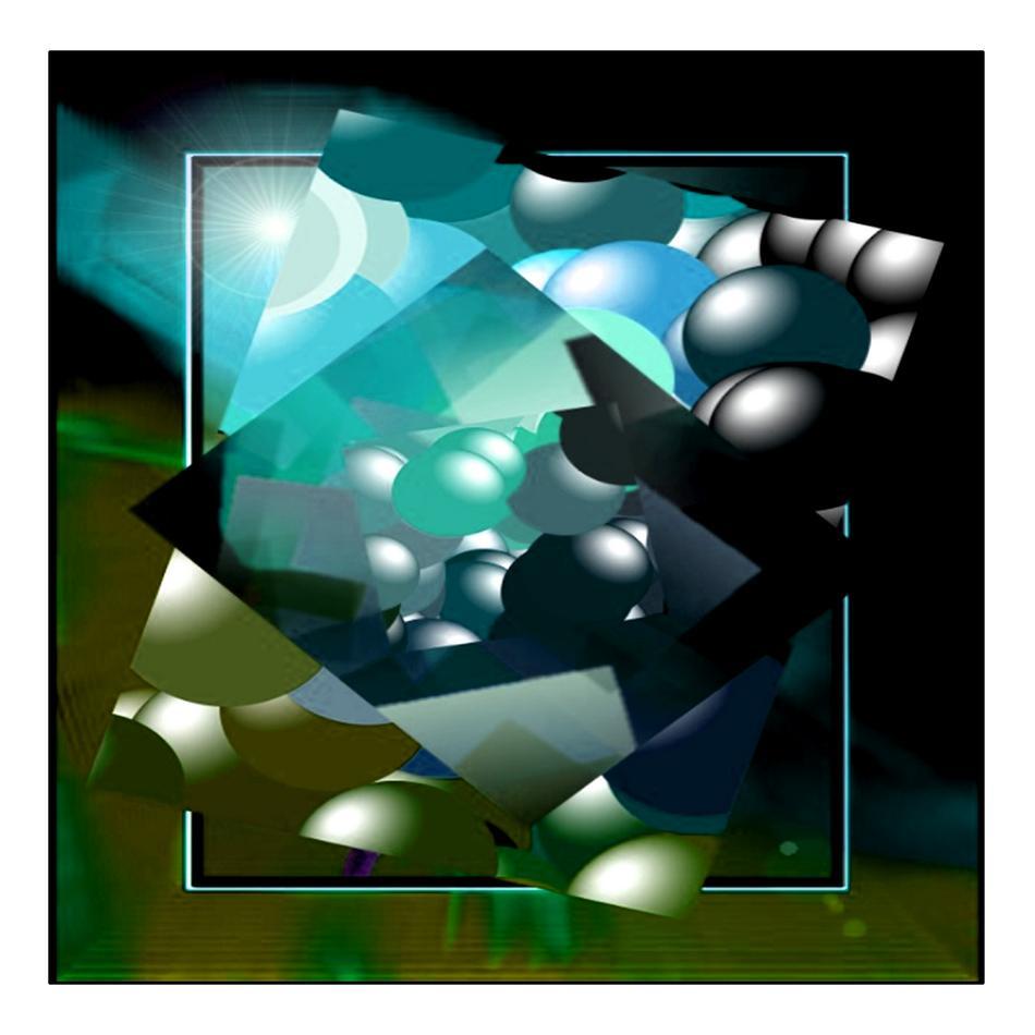 Abstrakte Spielerei 01