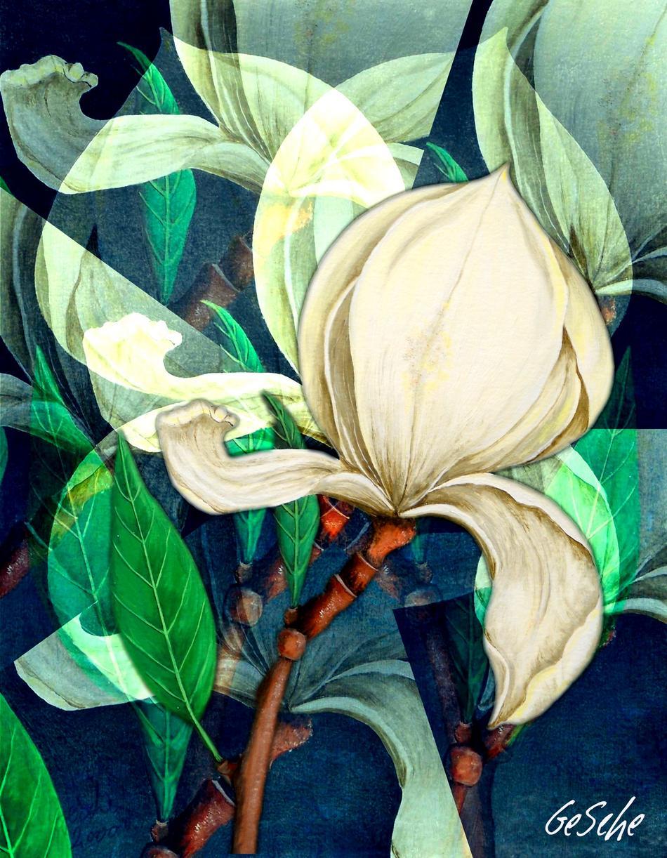 Florale Spielerei