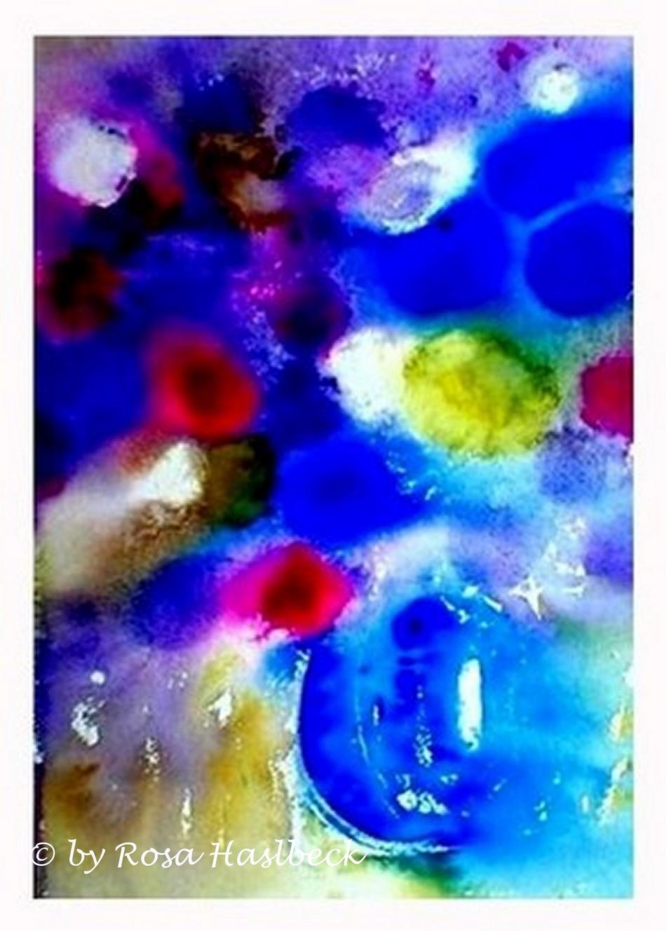 Aquarell  Blumenstrauß