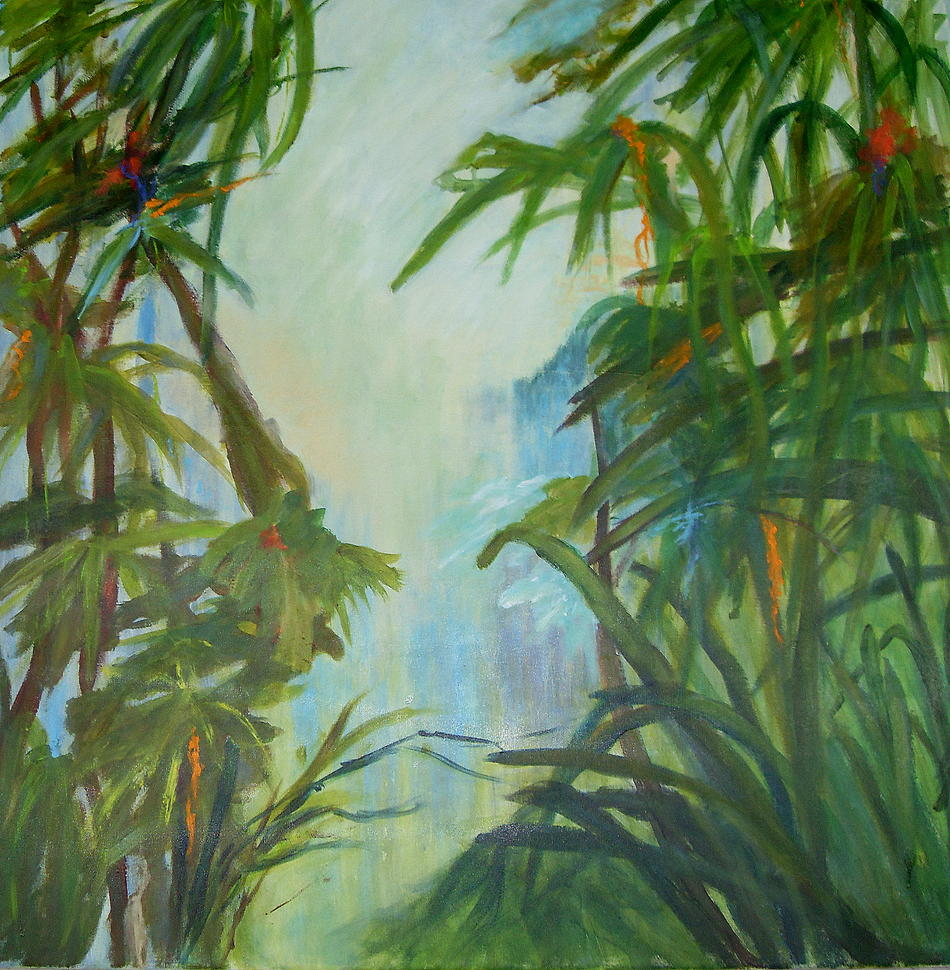 TROPICAL GARDEN no 2 - SOLD