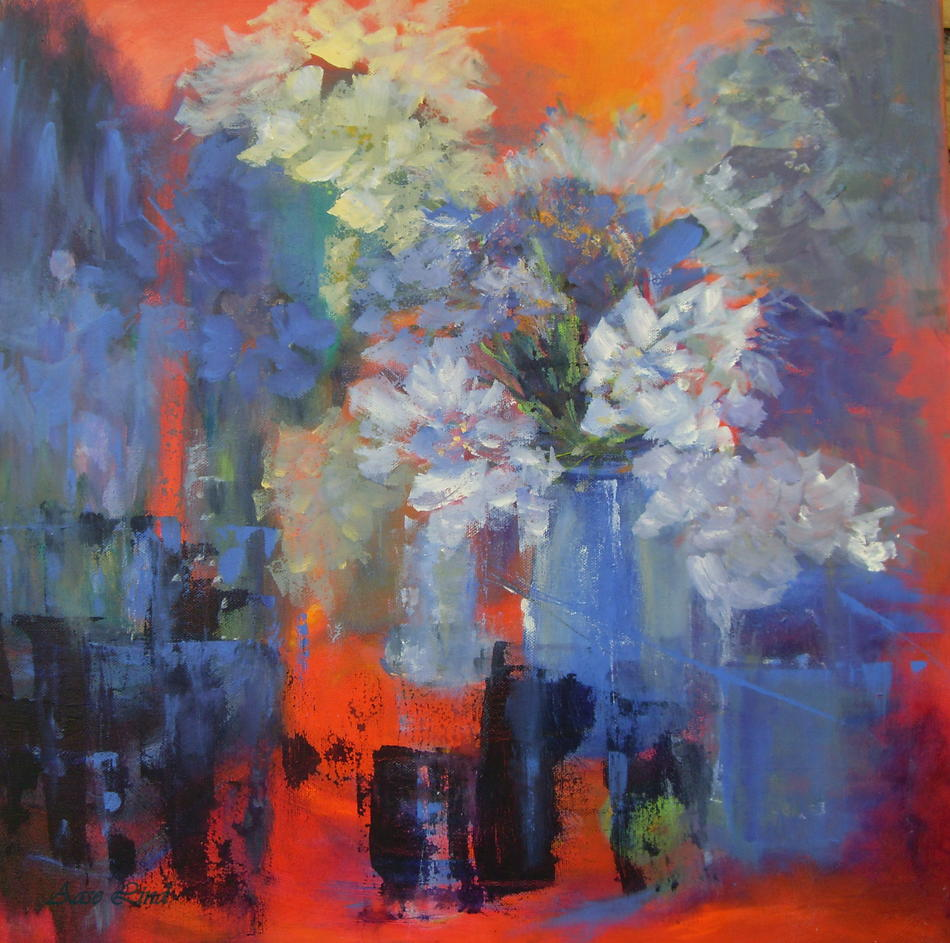 FLOWERS in Red (sold)
