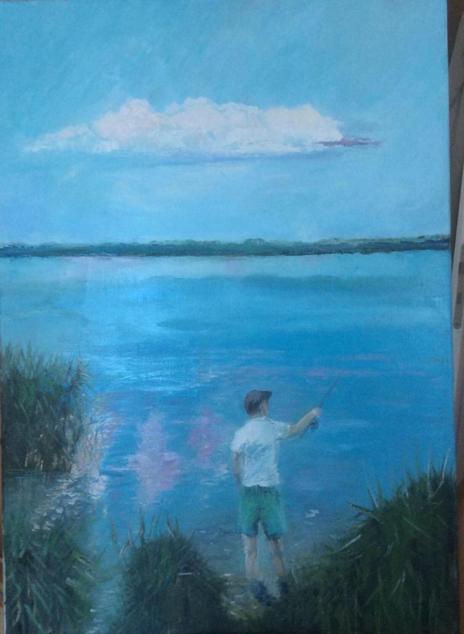 Fischer und Wolke