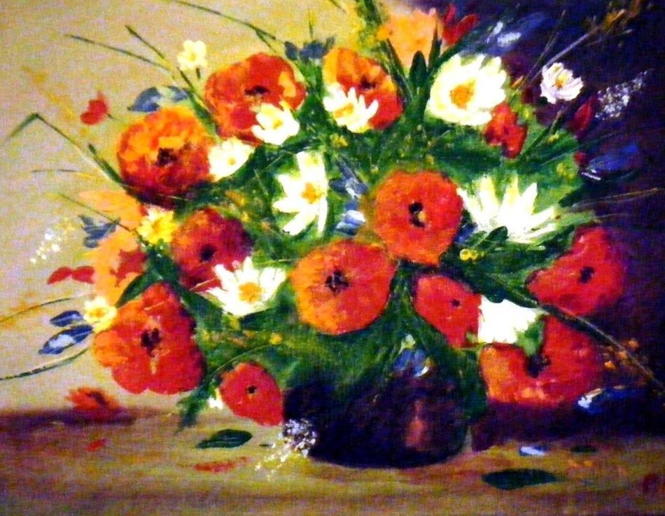 Sommerblumenstrauss