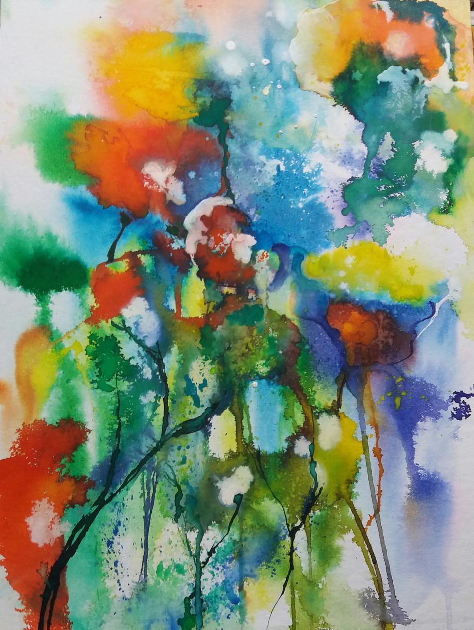 Abstrakte Blumen 2