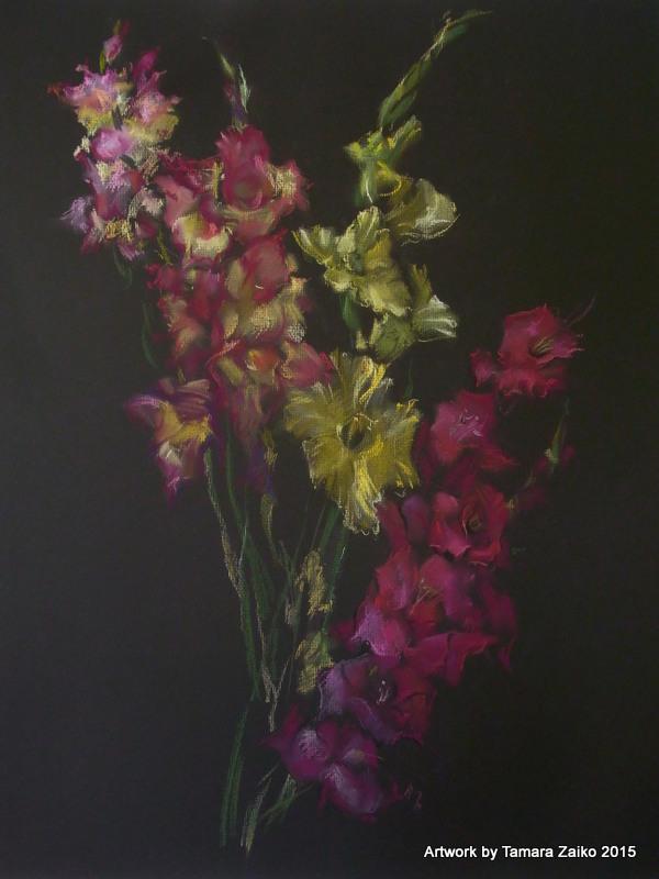 August. Gladiolen2