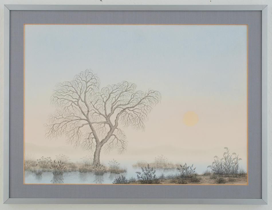 Ahorn im Nebel
