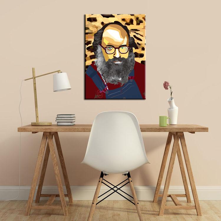 Portrait Allen Ginsberg