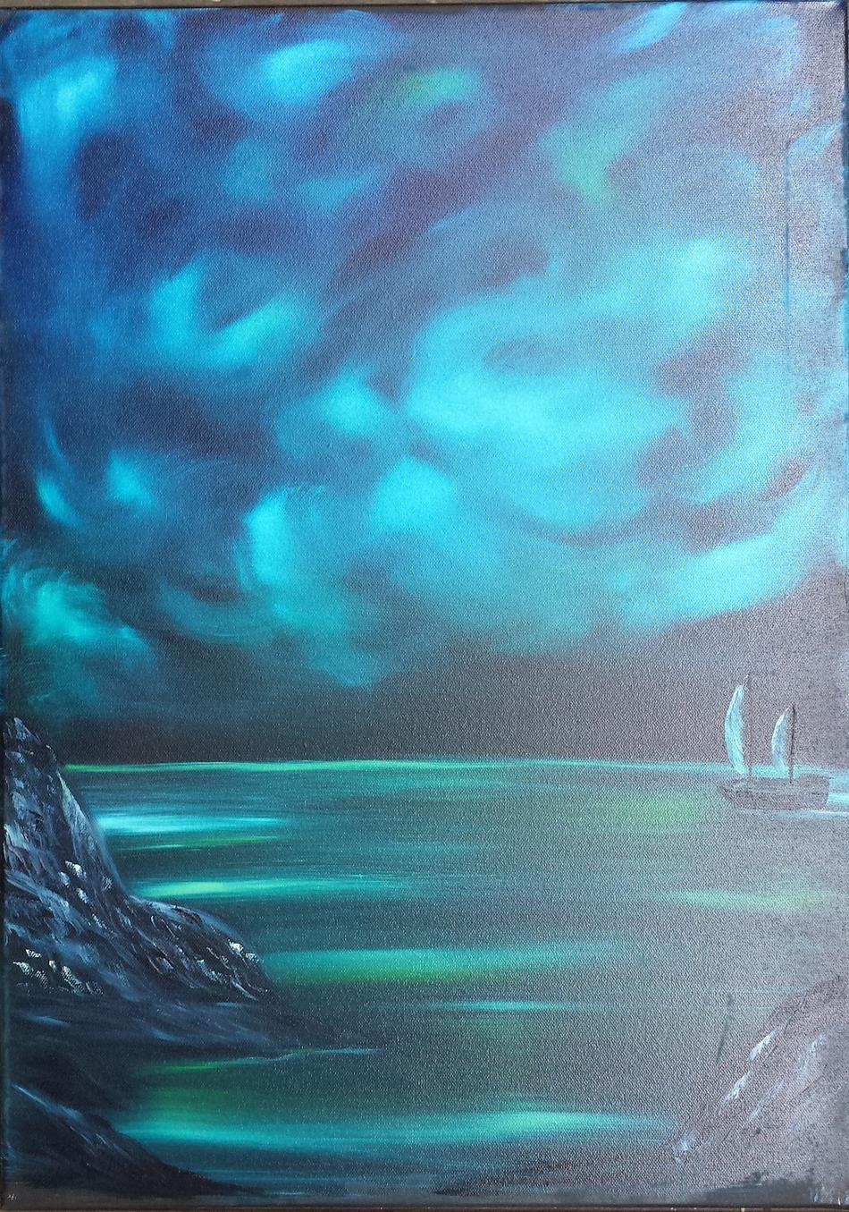 Nächtliches Meer