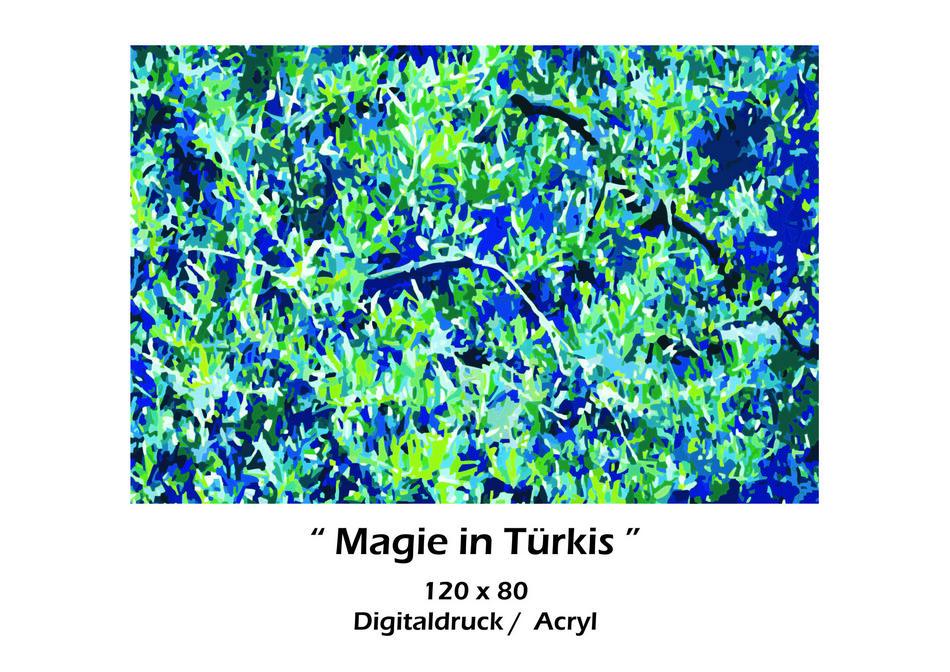 Magie in Türkis