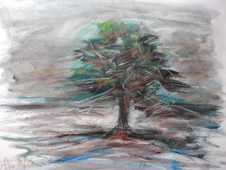 Baum ohne Titel