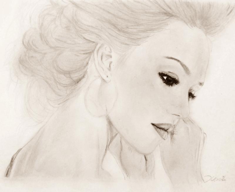 Portrait - Bleistift