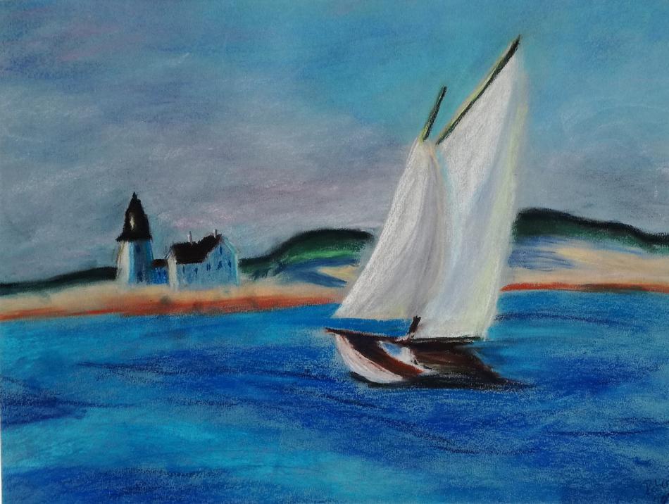Segelschiff Normandie