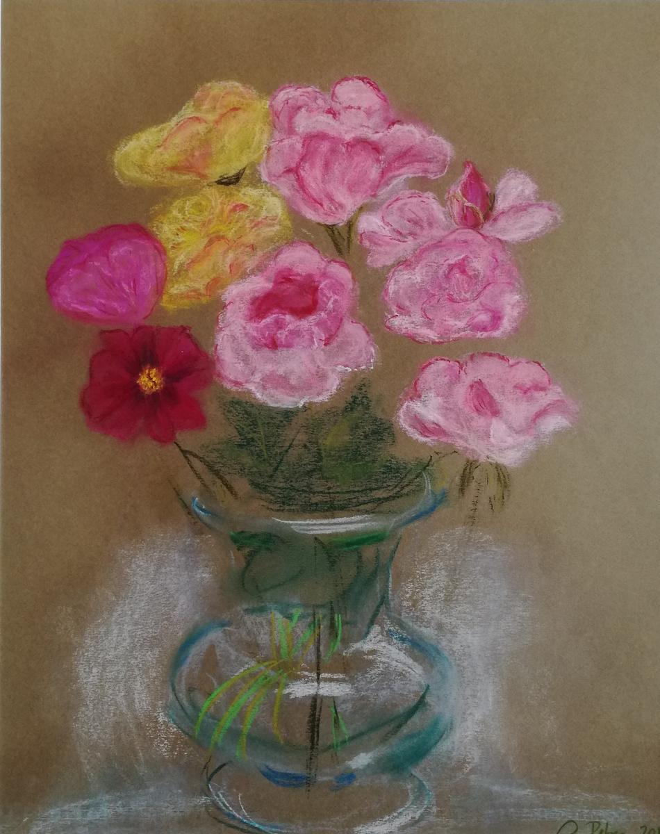 Sommerstrauss in Vase