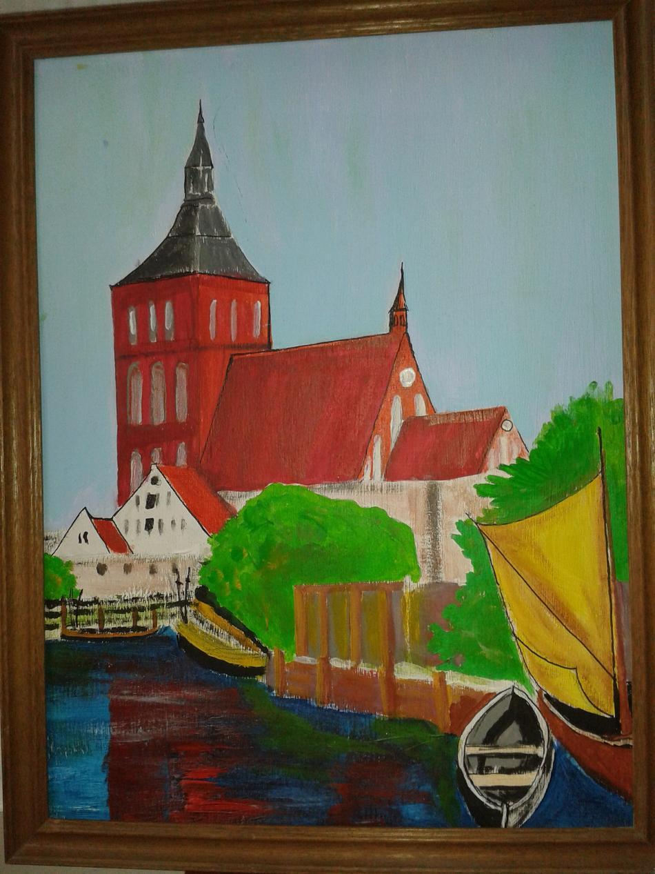 Fischergraben und Nikolaikirche