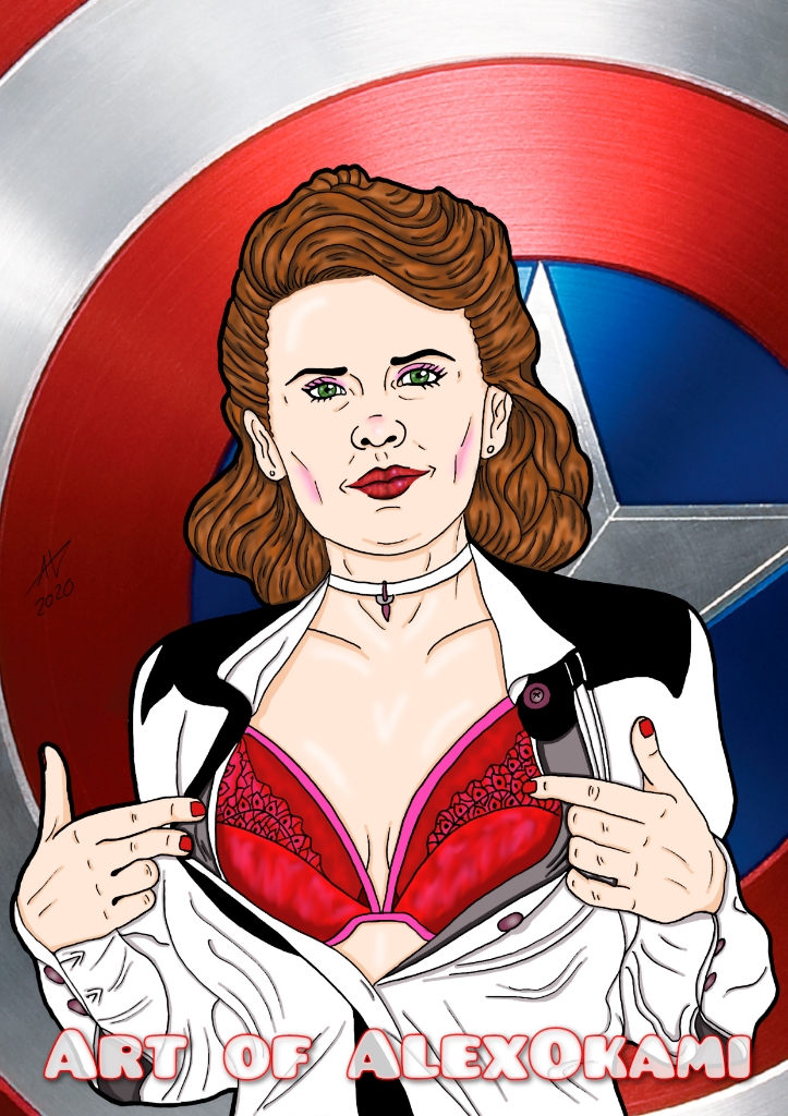 Agent Carter Pin Up 2
