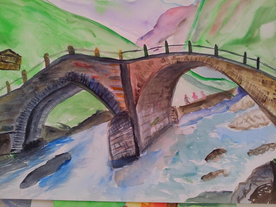 gleiche alte Brücke