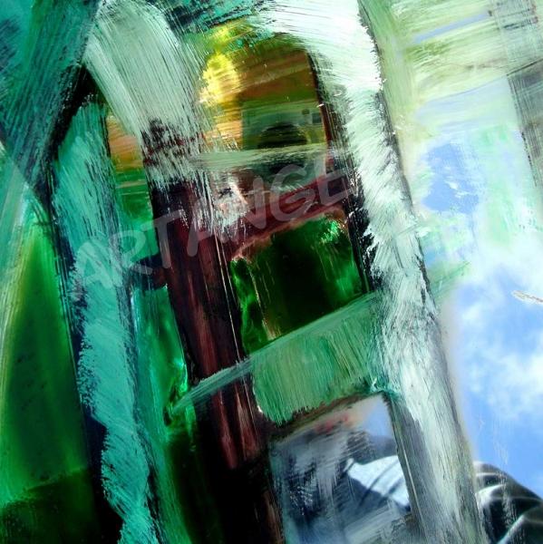 Green selfie