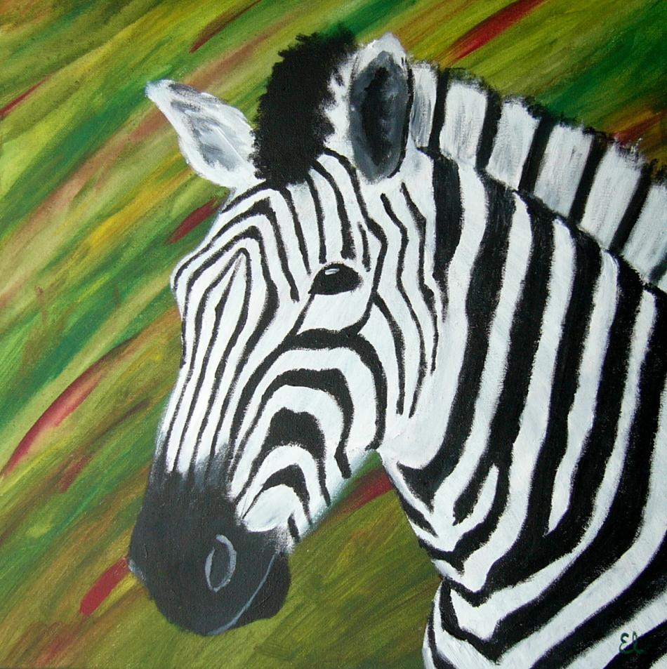 pin zebra acryl auf leinwand 50 x 70 cm on pinterest. Black Bedroom Furniture Sets. Home Design Ideas
