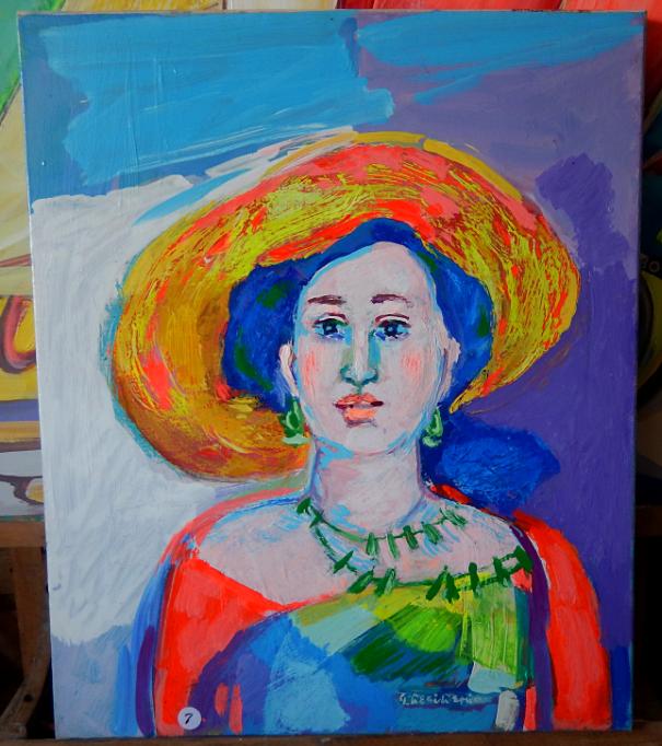 Donna col cappello Mary