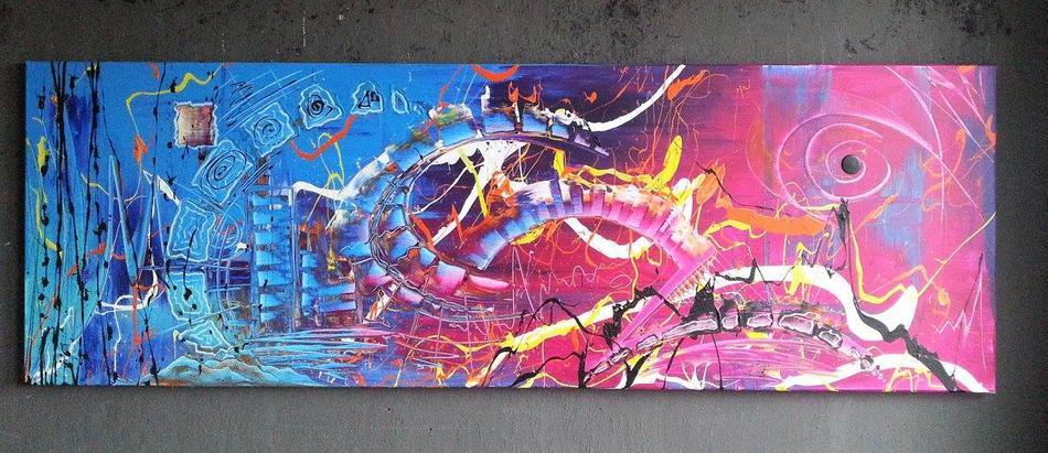 Handgemaltes Wandbild Gonzo V.