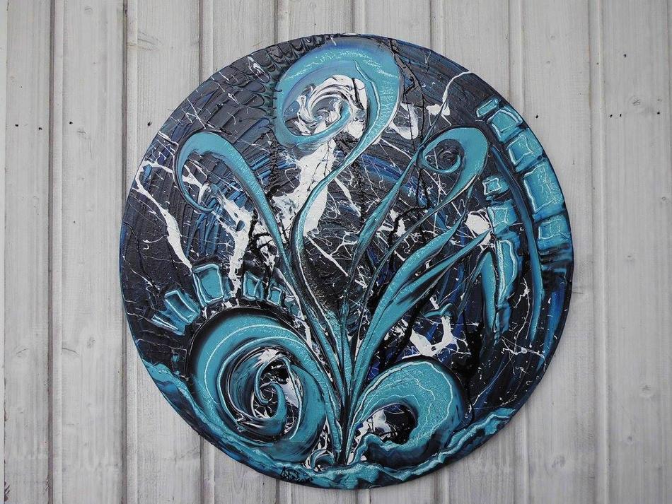 Acrylbild 50x50 (Gonzo V.)
