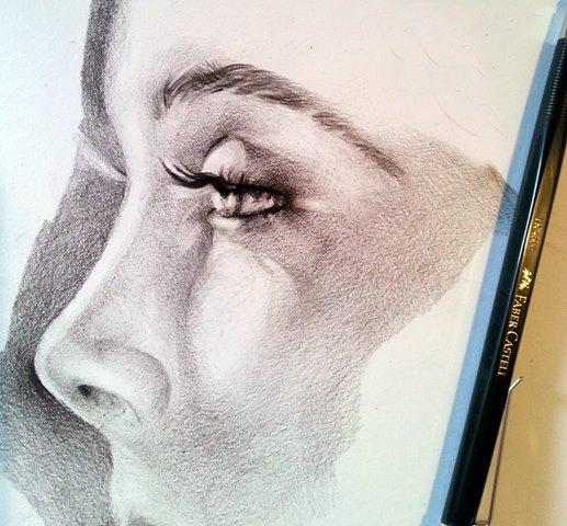 The Beginning Pencil,Sketch