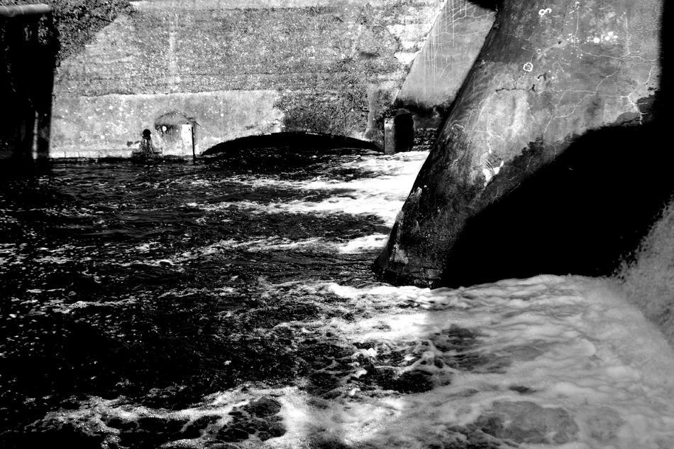 Das alte Wasserwehr