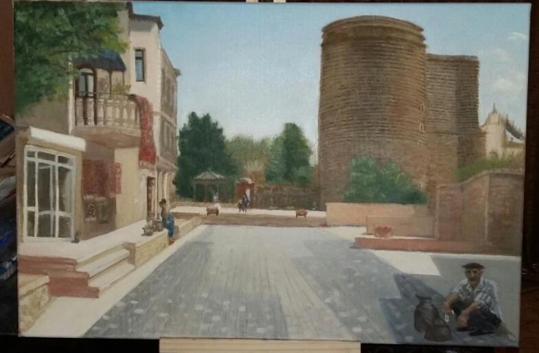 Jungfrauenturm/Maiden Tower / Old Town of Baku Azerbaijan