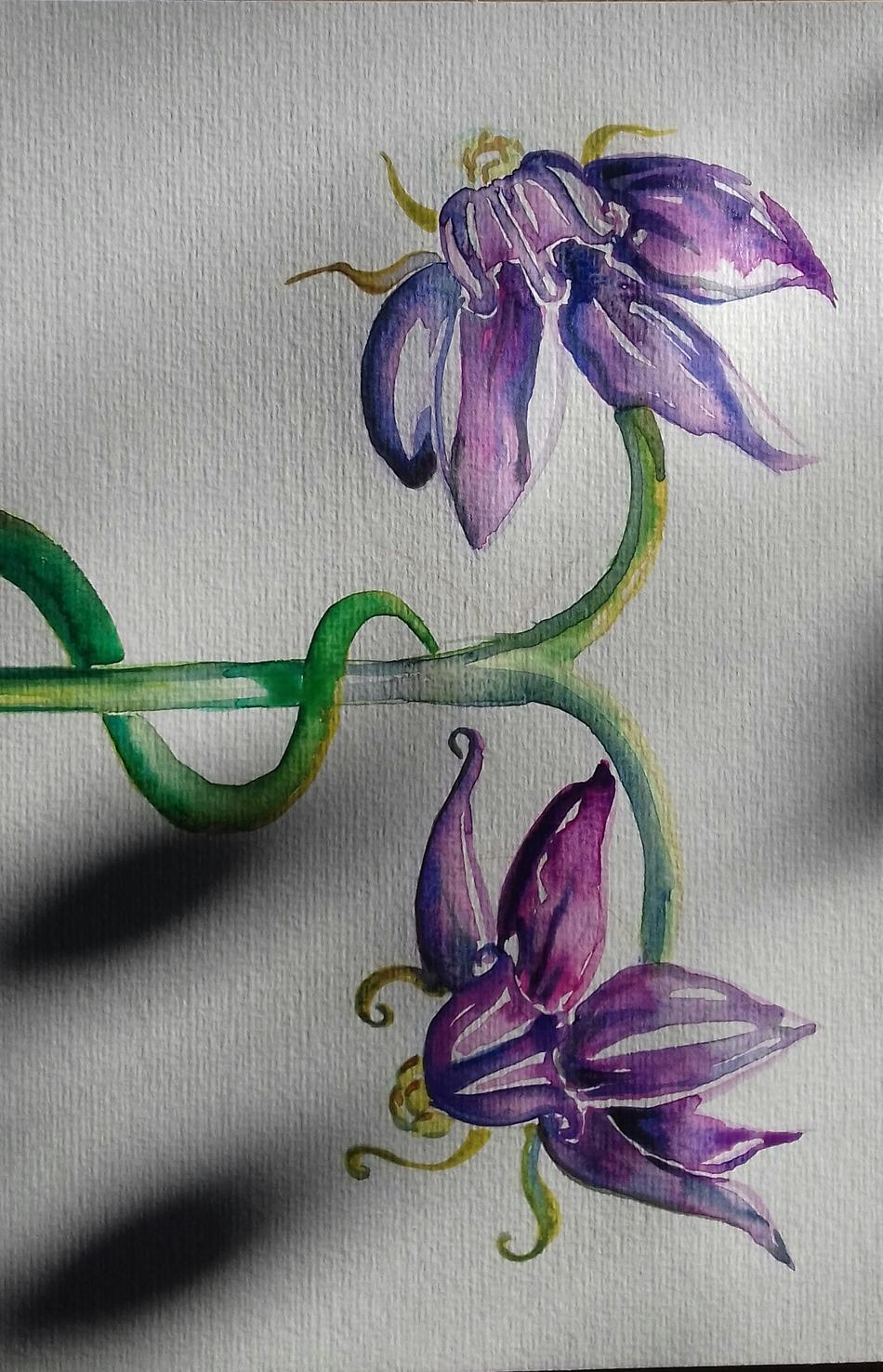 Blumen Werk zum Frühling