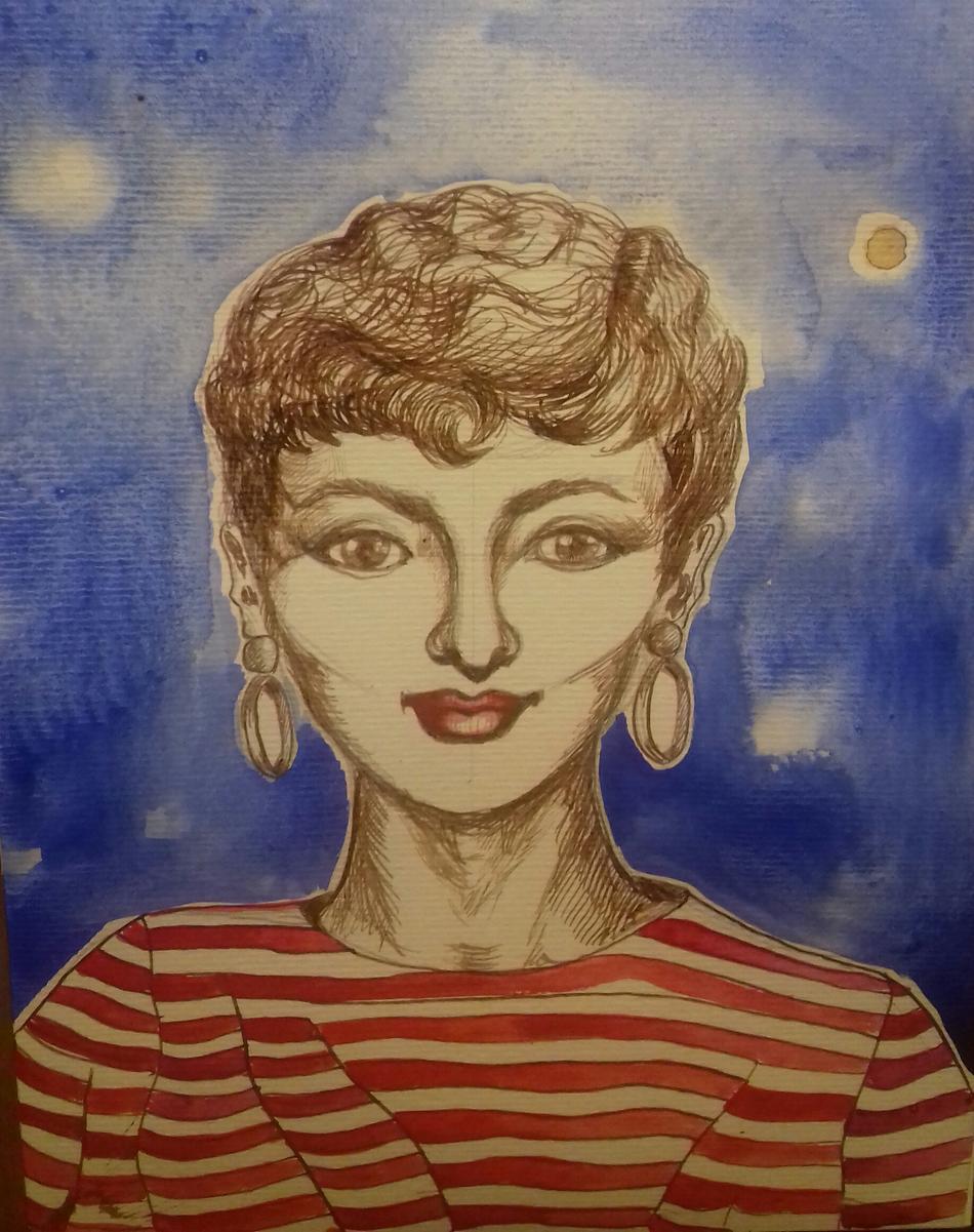 Comic Audrey
