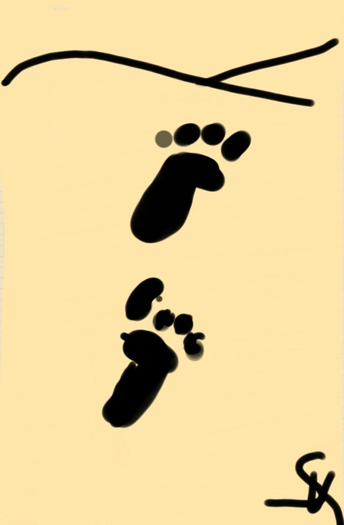FootprintsIn theSand