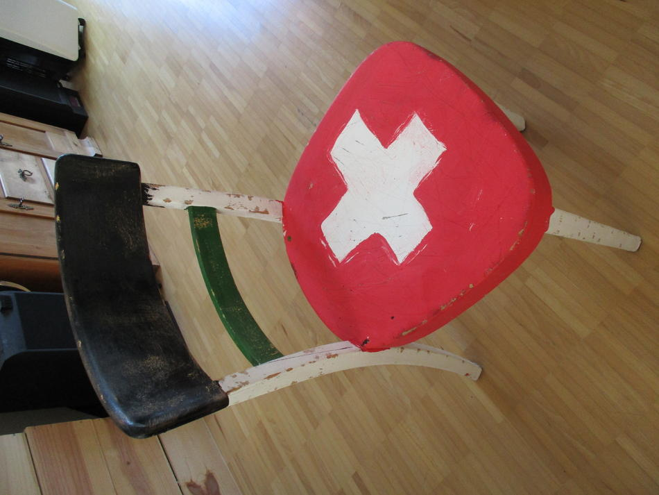 Recycling Chair Swiss