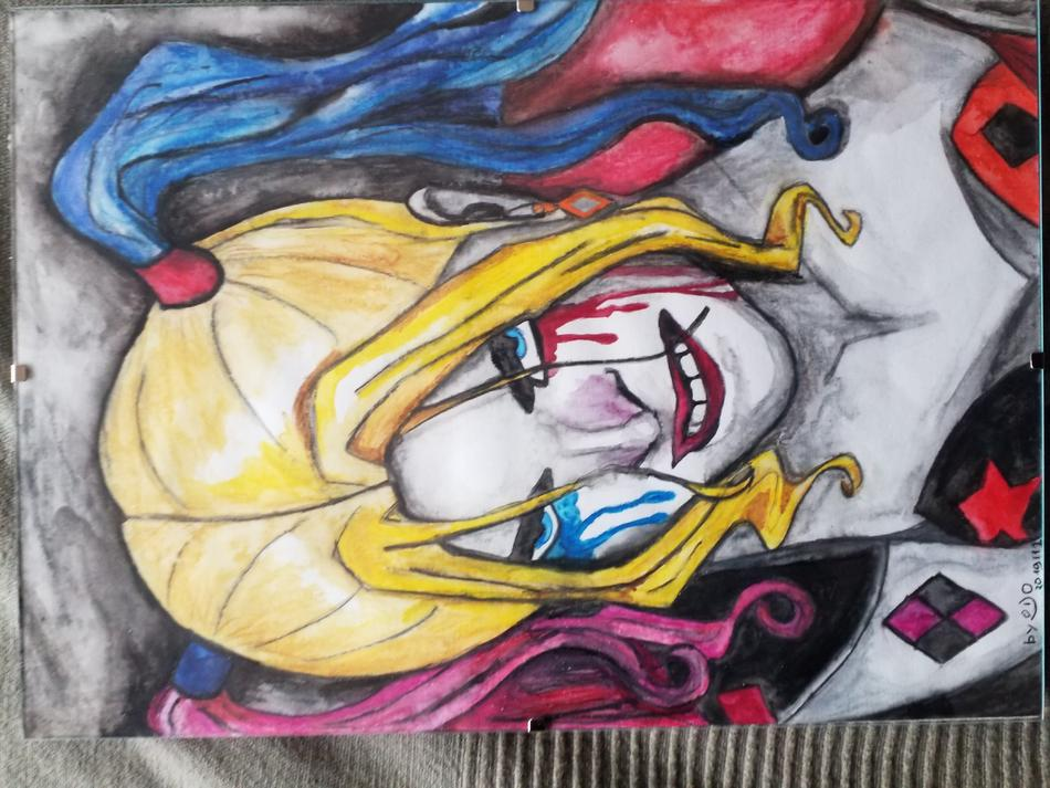 Angry Harley Quinn