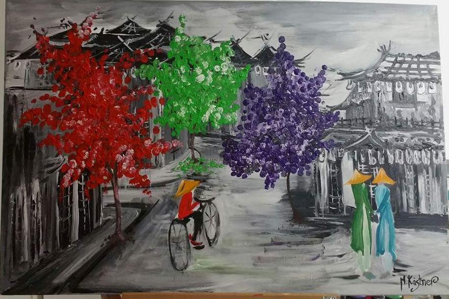 3 colour trees