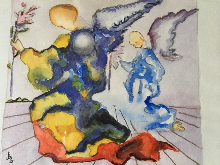 Engel nach Dalí