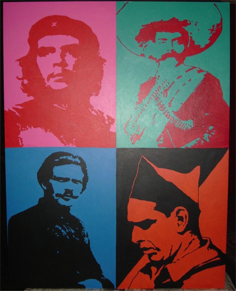 Revoluzzer (Che, Zapata, Machno, Durruti)
