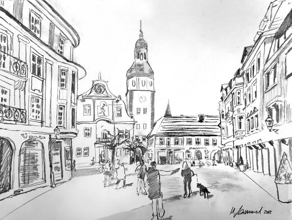 Ettlingen, Rathausplatz