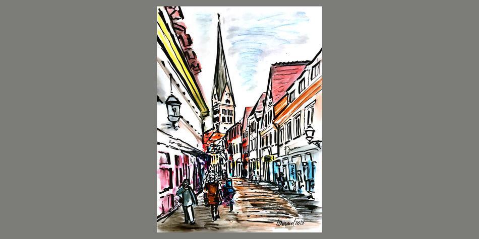 Ettlingen, Kronenstraße