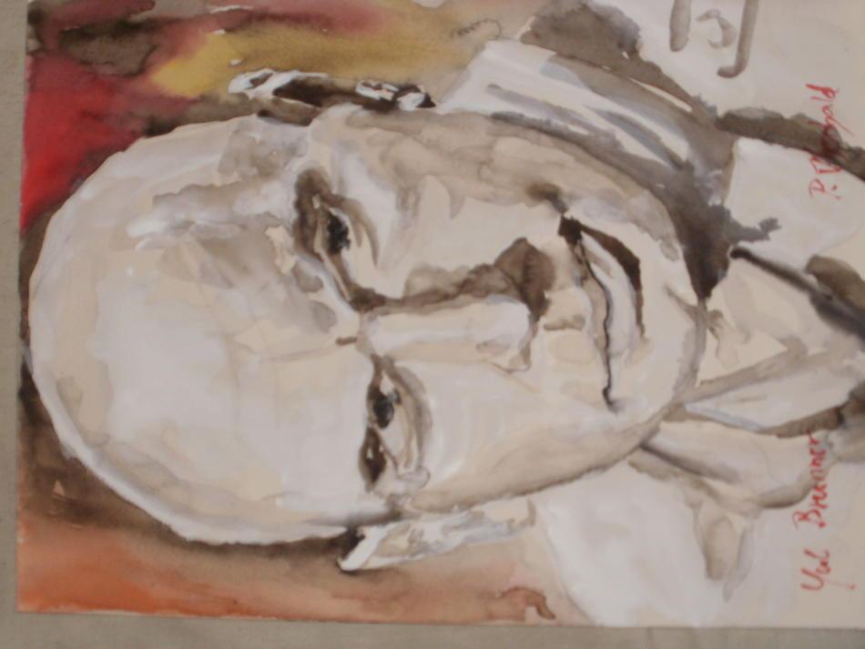 Yul Brynner Portrait