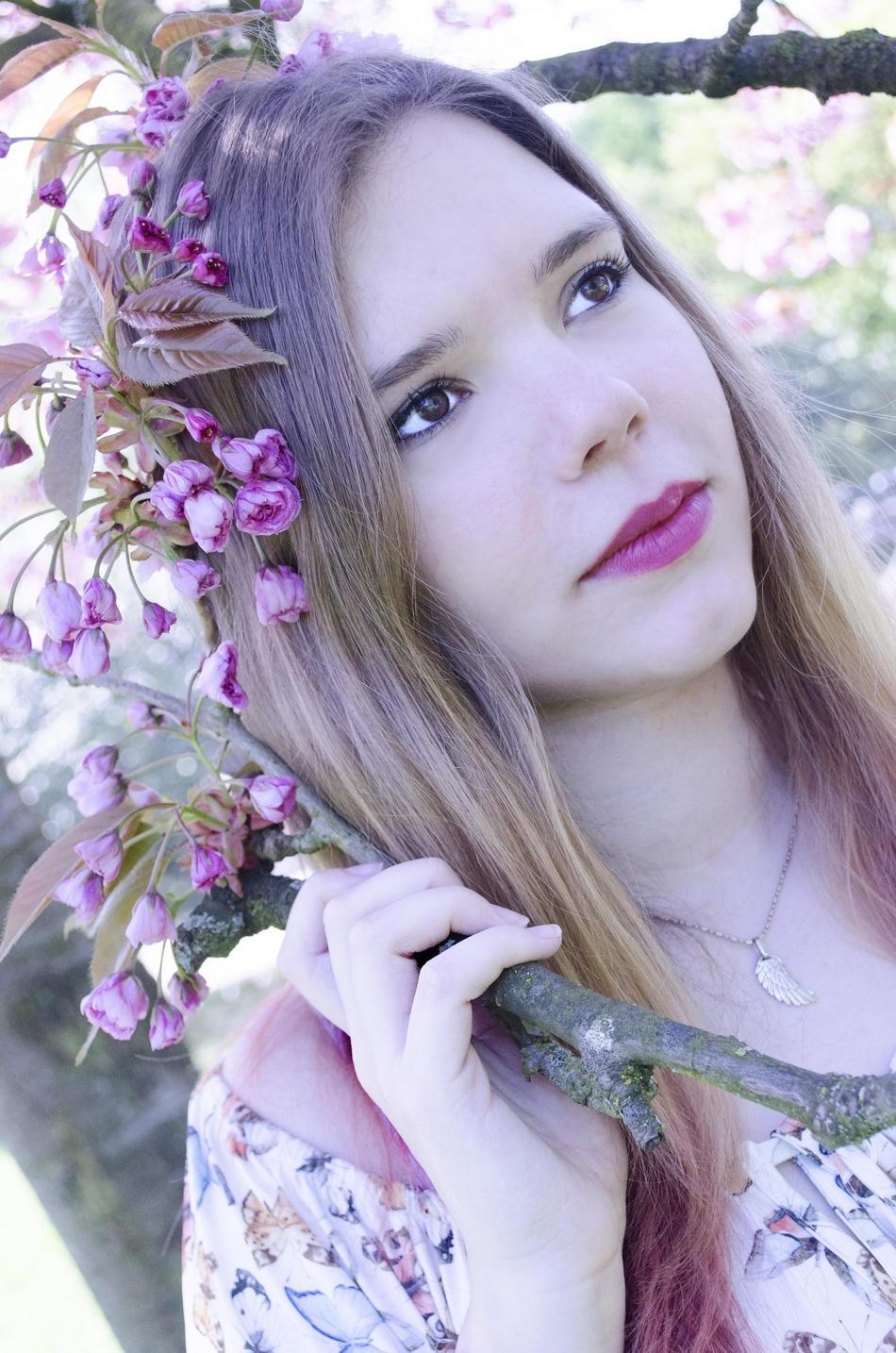 Kirschblüten - Portrait